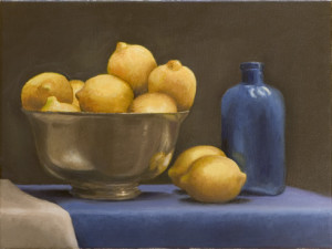 lemons and blue I