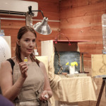 Cornelia discusses the chemical qualities of paint colors
